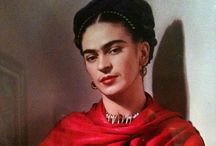 Frida Kahlo y Diego Rivera / by Susanne Neider