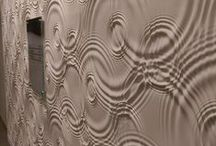 creative wall design / unusual ideas for designing walls