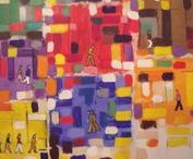 ARTROOMS: Richard Ahr NYC Artist / Richard Ahr..worked for the Met until retirement and continued his odyssey and passion for art..his own..