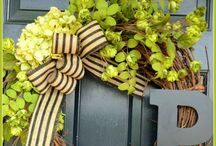 Hop decorations / Anything creative using hops