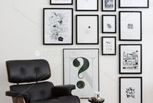 Gallery wall | best ideas / Ideas for decorating walls with art - Gallery style