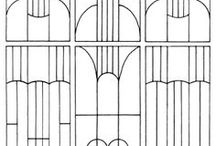 ART DECO_ / Art deco ornaments and patterns.