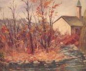 ARTROOMS: New Hope Impressionists 2 / Artists John Dull and Caesar Ricciardi listed artists.