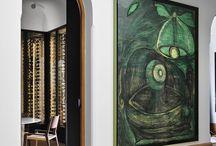 ◎ oversized art / Oversized Art used in Decor