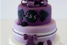 LILA AND PURPLE CAKES