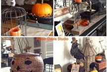 Love to Decorate for Fall/Halloween / Love to decorate the house inside and out