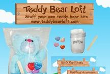 Teddy Bear Loft Party Planning Inspiration / After you've picked out adorable stuff your own teddy bear kits from the Teddy Bear Loft stop by this board for a little extra teddy bear party planning inspiration! www.teddybearloft.com Follow us! www.facebook.com/teddybearloft  www.instagram.com/teddybearloft www.twitter.com/teddybearloft