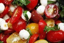 Salad, Veggies & Fruits