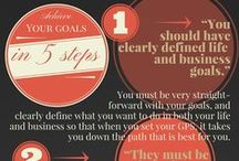 Infographics / Some strategies I found that will help you save time, money, energy or that can actually help you make more!