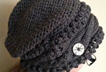 HATS & BEANIES (All ages) / Handknit & crocheted hats available at www.knittingbykali.etsy.com