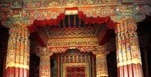 Tibet / Everything about Tibet. Aquarells, temples, monks, monasteries, people, music, etc.