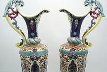 Zsolnay Porcelain and Ceramics of Hungary / I'd like to collect for myself these wonderful masterpieces of the Zsolnay family and the factory in town Pécs.