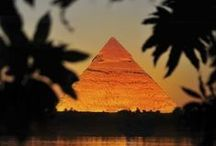 Egypt / Pyramids, steles, everything from ancient Egypt