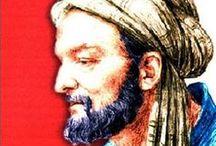 Ibn Sīnā - Avicenna / Full name: Abū ʿAlī al-Ḥusayn ibn ʿAbd Allāh ibn Al-Hasan ibn Ali ibn Sīnā, Latin name: Avicenna (c.980 – June 1037). Persian polymath, doctor (hakim), philosoph, etc.