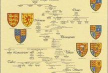 Dynasties of Europe / Rulers and family members, offsprings of different European dynasties