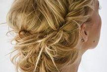 Festfrisyrer / Snygga frisyrer och uppsättningar som passar till fest.