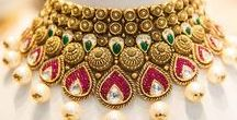 Jewels from India / I collect every kind of  jewels from India that I like to see: royal ones and that of temple ones, modern ones, etc. - real treasures!