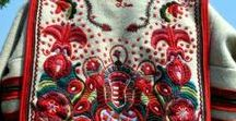 Folk Art / Folk art collection: furniture, dressses, embroideries, dances, etc. from the world.