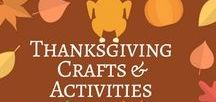 Thanksgiving Crafts & Activities