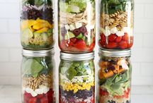 Food in a jar and Snacks to Go