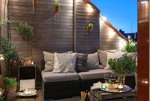 Balkon und Terrasse / Ideensammlung und DIY Projekte für Terrasse und Balkon