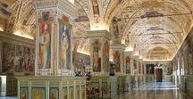 Vatican Library and Archives / The Vatican Library and requisits, archives, manuscripts, books, codexes, letters, etc.