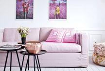 Pink interiors / Blog posts of La casa de Freja
