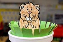 Groundhog Day Crafts & Activiities
