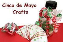 Cinco de Mayo Crafts for Kids / Easy kids crafts to celebrate Cinco de Mayo.