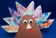 Thanksgiving Crafts / Celebrate Thanksgiving with your kids.  Turkeys, Indian Corn, Pumpkins... Thanksgiving recipes, crafts, activities, and printouts for children.   Easy classroom lessons and printables for Thanksgiving.