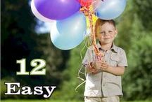 Party Games / Fun Kids party games add to the success of your child's next birthday party.  Choose party games that are engaging and fun and work with the birthday party theme.