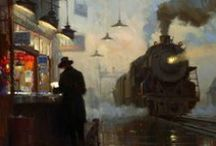 Trains and Trolleys / by karen donofrio