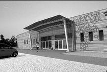 Ceglédi Borászat / Cegléden nagyüzemi borászat kivitelezési tervei Kun Roland és Lengyel Ferenc közreműködésével.
