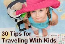 Vacation & Travel with Kids / Tips and advice for travel with kids.  Car games, packing advice, printable games.