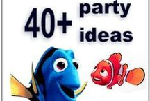 Birthday Party Ideas for Kids / Easy Birthday Party Ideas for Kids.  Fun party themes that kids love from summer birthday parties to Disney Movie themes.