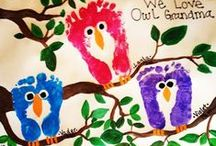Grandparent's Day / Kids crafts and gift ideas for Grandparent's Day.