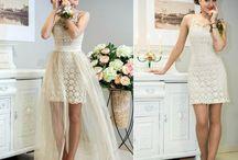 Кружевная свадьба / Свадебные платья и идеи для них