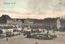 Dawne Wejherowo / Zbieram fotografie starego Wejherowa. Interesują mnie też stare mapy i odtworzenie przebiegu dawnych ulic, oraz zabudowy miejskiej.
