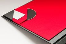 Portfolio/book / ideas for portfolio and bookbinding, paper and art prints