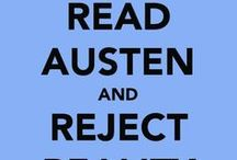 Jane Austen / If you are a fan of all things Austen, you'll love this board.