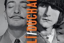 Dalí / Duchamp / Inspired by our exhibition of the same name, we take another look at two artistic giants: father of conceptual art Marcel Duchamp, and larger-than-life Surrealist Salvador Dalí. roy.ac/pin-daliduchamp