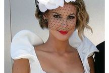 The fashion of Racing / Melbourne Cup Horse Racing. Fashion on the field inspiration.