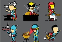 superheroes☺villains