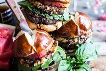Sandwiches, Bread & Burgers / by Abbey van Gelder