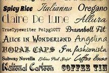 Tipografia i lletres
