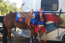 Halloween Horse Costume Contest / Take a picture of your horse in costume and post it to the Horsecity.com Facebook wall. You could be selected to win a specially designed Clinton Anderson halter and lead set. Thanks to Clinton Anderson and Downunder Horsemanship for the great prize!