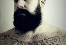 4tha luv of bearded tatted men / Love sexy bearded and tatted up men with muscles, that's why I married one ;) / by Amanda Solorzano