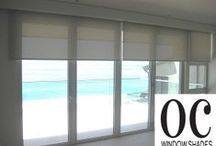 Window Roller Shade by OC Window Shades / Work done by OC Window Shades.com