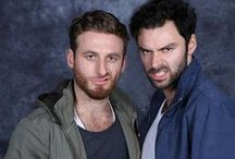 Aidan Turner ☉ Dean o'gorman, adorable guys