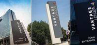 Bespoke Monoliths / Signbox Monolith signs are designed to enhance their environment rather than dominate or impose on a landscape so our project managers work alongside building and estate owners, architects and specifiers to project both information and brand appropriately, yet consistently.